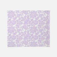 Cute Lavender Throw Blanket