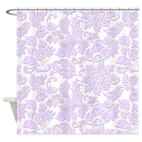 Funny Lavender Shower Curtain