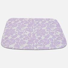 Unique Purple relay for life Bathmat