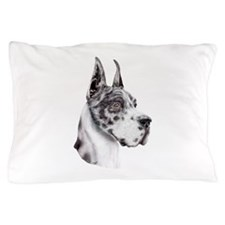 Great Dane Harlequin Show Colors Pillow Case