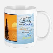 Funny Birthday cousin Mug