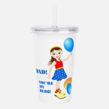 On father day Acrylic Double-wall Tumbler