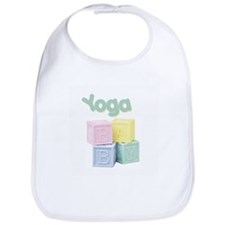 Yoga Baby Blocks Bib