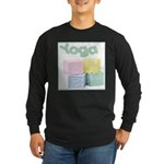 Yoga Baby Blocks Long Sleeve Dark T-Shirt