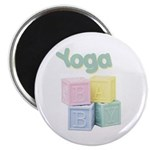 Yoga Baby Blocks Magnet
