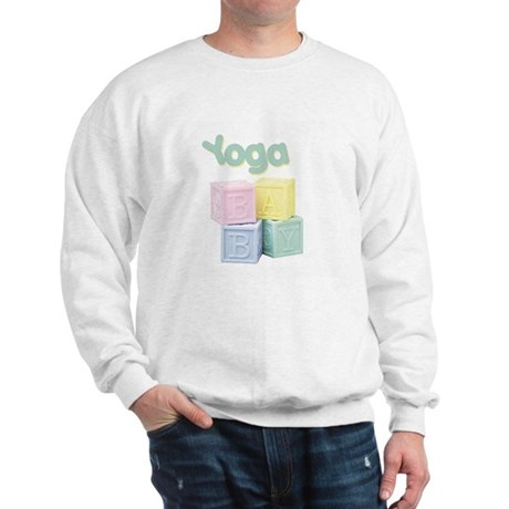 Yoga Baby Blocks Sweatshirt