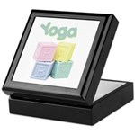 Yoga Baby Blocks Keepsake Box