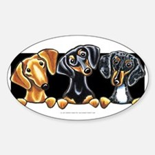 3doxies-licenseplate Decal