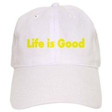Eat,Sleep,Poop Life is Good Baseball Cap