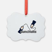 nunchuks Ornament