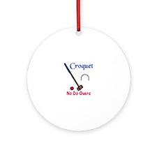 Croquet Do Overs Ornament (Round)