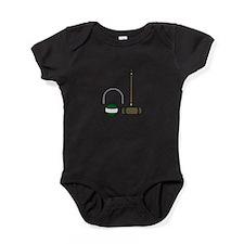 Croquet Equipment Baby Bodysuit