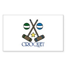 Croquet Decal