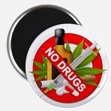 No Drugs Magnet