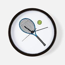 Racquet & Ball Wall Clock