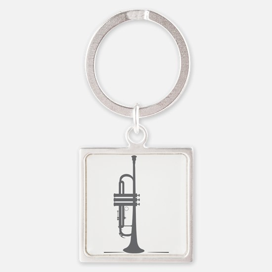 Upright Trumpet Keychains