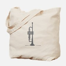 Upright Trumpet Tote Bag