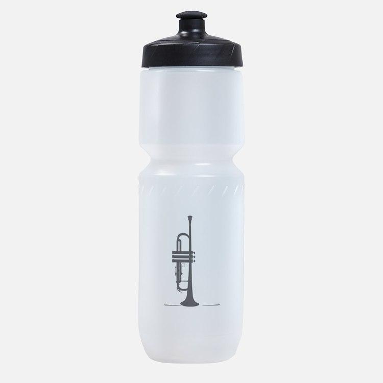 Upright Trumpet Sports Bottle