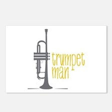 Trumpet Man Postcards (Package of 8)