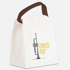 Trumpet Man Canvas Lunch Bag