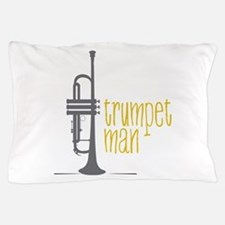 Trumpet Man Pillow Case
