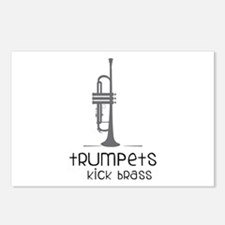 Trumpets Kick Brass Postcards (Package of 8)