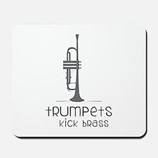Trumpets Kick Brass Mousepad
