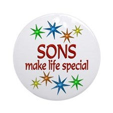 Special Son Ornament (Round)