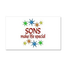 Special Son Car Magnet 20 x 12