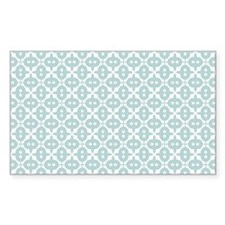 Mint and White Tile Pattern Decal