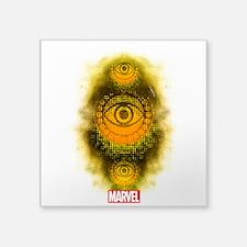 "Doctor Strange Symbol Square Sticker 3"" x 3"""