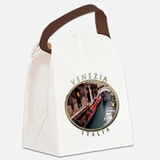 Gondolas in Venice Canvas Lunch Bag