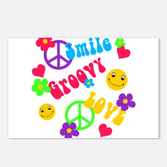 Funny Smileys Postcards (Package of 8)