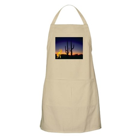 Cactus and Kokopelli BBQ Apron