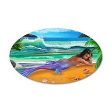 ENCHANTED MERMAID Wall Decal