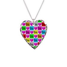 BRIDAL LOVE Necklace Heart Charm