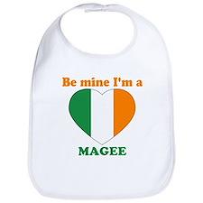 Magee, Valentine's Day Bib