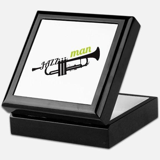 Jazz Man Keepsake Box