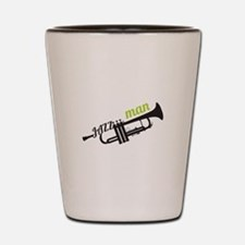 Jazz Man Shot Glass