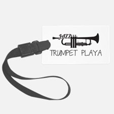 Trumpet Playa Luggage Tag