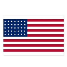 35 Star US Flag Postcards (Package of 8)