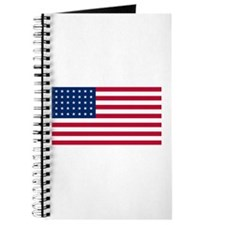 35 Star US Flag Journal