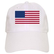 35 Star US Flag Baseball Cap