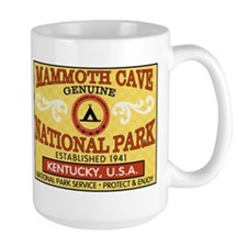 Mammoth Cave National Park (L Coffee Mug
