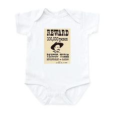 Wanted Pancho Villa Infant Bodysuit