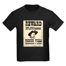 Wanted Pancho Villa T