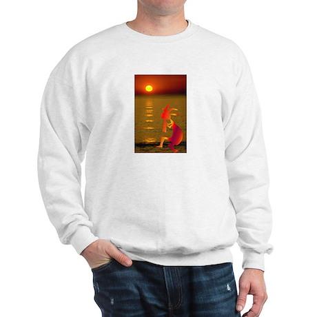 Kokopelli Sunset Sweatshirt