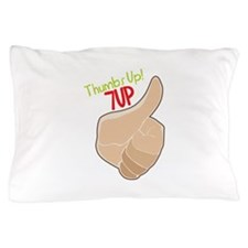Thumbs Up 7Up Pillow Case