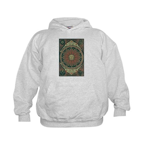 Sun and Moon Symbolism Kids Hoodie