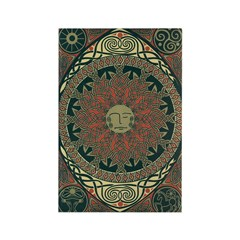 Sun and Moon Symbolism Rectangle Magnet